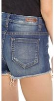 Blank Button Up Cutoff Shorts