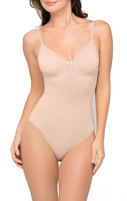 Body Wrap Women's Underwire Soft Cup Bodysuit Shapewear
