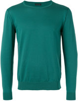 Z Zegna crew neck jumper - men - Cotton - M