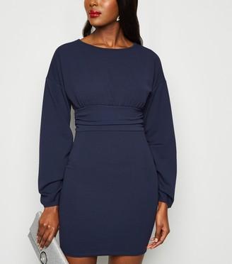 New Look Missfiga Ruched Waist Bodycon Dress