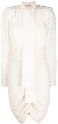 Glamorous Statement micro-pleated dress
