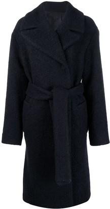 Victoria Victoria Beckham Boucle Belted Coat