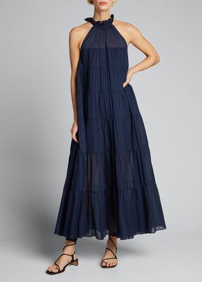 Rhode Resort Julia Cotton Maxi Dress