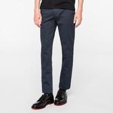 Paul Smith Men's Slim-Fit Steel Grey Stretch-Cotton Chinos