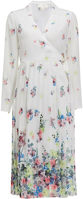 Ted Baker Ellian Pergola floral-print crepe midi dress
