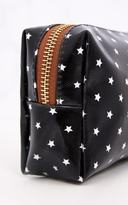 PrettyLittleThing Black Star Make Up Bag