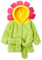 Baby Aspen Newborn/Infant Girls) Flower Hooded Terry Robe