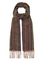 Paul Smith Woven cashmere scarf