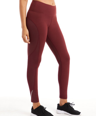 Marika Women's Active Pants TAWNY - Tawny Port Jordan High-Waist Leggings - Women