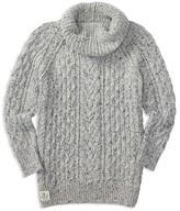 Ralph Lauren Girls' Merino Wool Blend Cable Sweater - Sizes S-XL