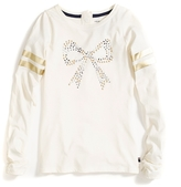 Tommy Hilfiger Runway Of Dreams Bow Long-Sleeve Tee
