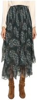 See by Chloe Crepon Paisly Maxi Skirt Women's Skirt