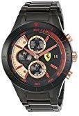 Ferrari 830305 'RED REV EVO CHRONO' Quartz Resin Watch