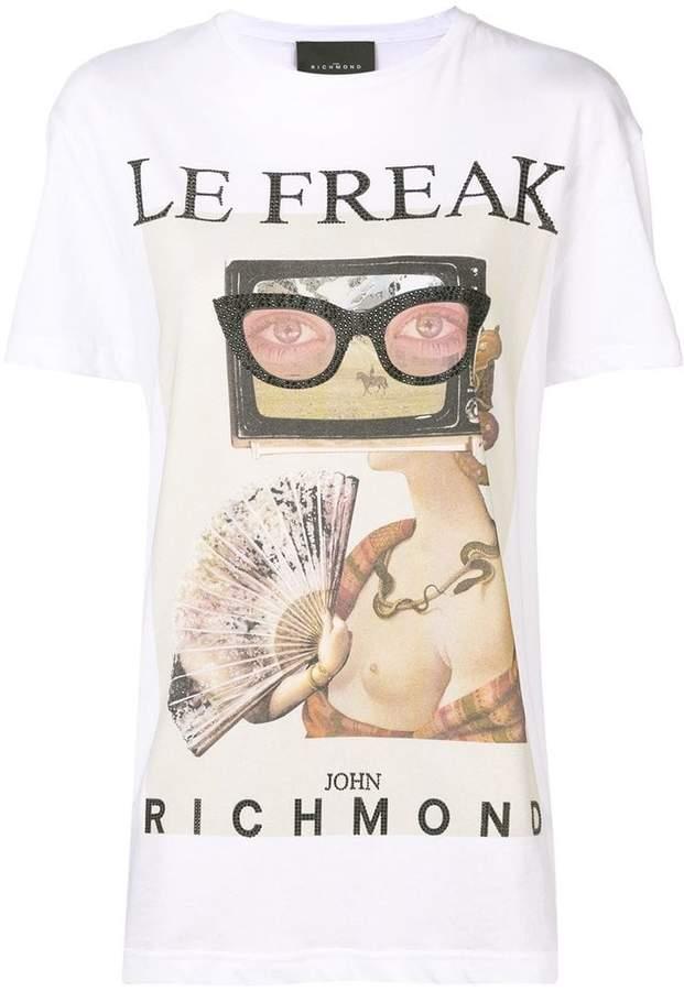 John Richmond le freak T-shirt