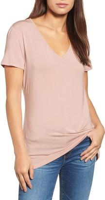 Halogen V-Neck Tunic T-Shirt