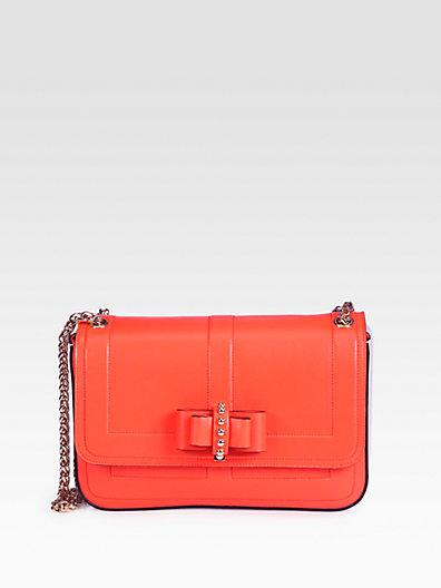 Christian Louboutin Sweet Charity Two-Tone Shoulder Bag