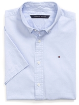 Tommy Hilfiger Custom Fit Short Sleeve Oxford