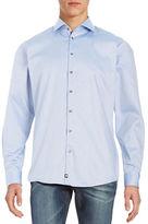 Strellson Nikalas Textural Cotton Button-Front Shirt
