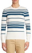 Lacoste Milano Stitch Striped Sweater
