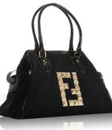 black canvas studded 'Bag De Jour' tote