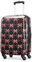 American Tourister Disney Minnie Mouse Head Bow 20 Inch Hardside Lightweight Luggage