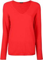 Iris von Arnim V-neck cashmere jumper
