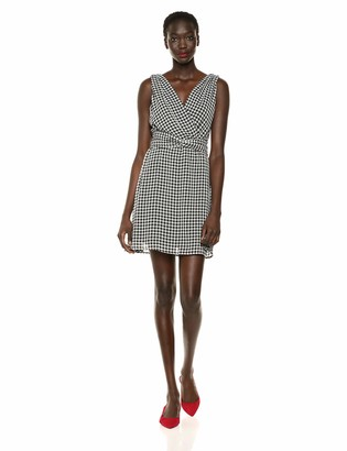 Bailey 44 Women's Danish Gingham Chiffon Dress with Back Smocking