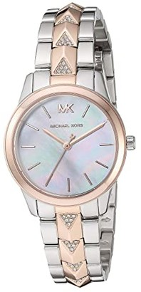 Michael Kors MK6717 - Runway Mercer (Rose Gold/Silver) Watches