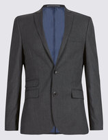 Marks And Spencer Charcoal Superslim 3 Piece Suit