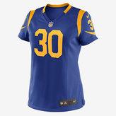 Nike NFL Los Angeles Rams Game Jersey (Todd Gurley II) Women's Football Jersey