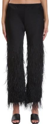 Cult Gaia Karis Pants In Black Polyester