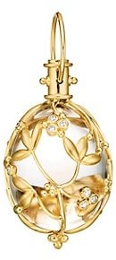 Temple St. Clair Tree of Life Rock Crystal, Diamond & 18K Yellow Gold Large Vine Amulet