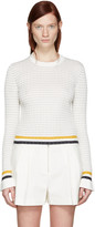 3.1 Phillip Lim White Knit Pullover