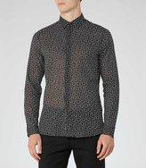 Reiss Patron Slim Printed Shirt