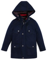 Urban Republic Boys' Hooded Military Peacoat - Sizes 2T-4T