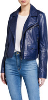 J Brand Divine Leather Moto Jacket