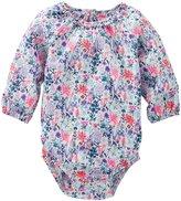 Osh Kosh Woven Bodysuit (Baby) - Floral - 12 Months
