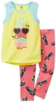 Petit Lem Cool Summer Princess Pajama - 2-Piece Set (Little Girls & Big Girls)