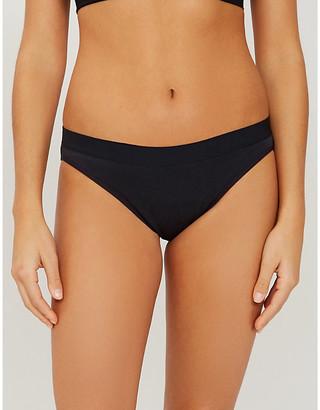 THINX Mid-rise organic cotton bikini briefs
