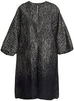 Thumbnail for your product : Marina Rinaldi, Plus Size Elegante Festival Silk-Blend & Lurex Jacket