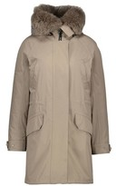 Yves Salomon Army By Parka lined with rabbit fur