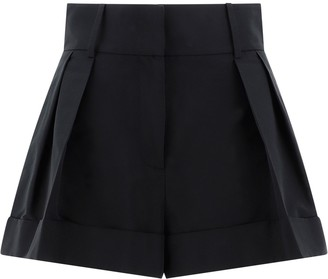 Valentino Pleated Shorts