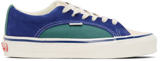 Vans Blue and Green OG Lampin LX Sneakers