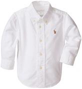Ralph Lauren Solid Oxford Shirt (Infant)