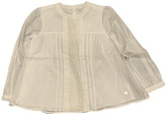 Christian Dior Beige Cotton Tops