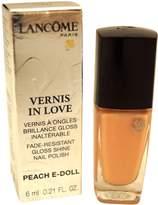 Lancôme Paris Vernis In Love Gloss Shine Nail Polish 122N Peach-E-Doll