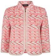 St. John Chevron Multi-Weave Jacket