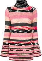 Missoni knitted turtle neck sweater
