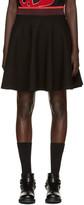 McQ by Alexander McQueen Black Flared Miniskirt