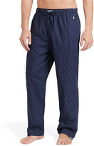 Polo Ralph Lauren Dotted Cotton Pajama Pant
